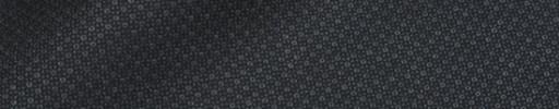 【Ca_81w023】チャコールグレー・黒ファンシー織りドット