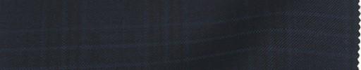【Ca_81w606】ダークネイビー+4×3.8cmネイビー・黒プレイド