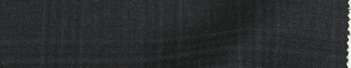 【Ca_81w607】チャコールグレー+4×3.8cm水色・黒プレイド