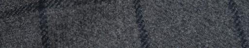 【Ca_82w048】ミディアムグレー+6.5×4.5cmネイビーウィンドウペーン