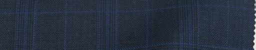 【Do_7w311】ダークブルーグレー+5×4cmブルーチェック・オーパーブレイド