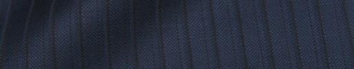 【Dol_8w22】ネイビー+9ミリ巾黒・織りストライプ