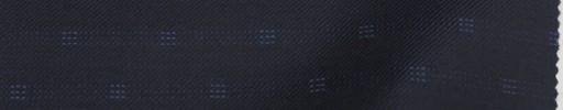 【La_8w04】ネイビー・ファンシードット+シャドウチェック