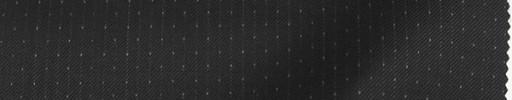 【Re_8w02】ブラック+3ミリ巾ドット・織りストライプ