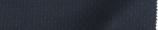 【Re_8w03】ネイビー+3ミリ巾ドット・織りストライプ