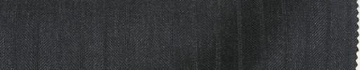 【Re_8w09】チャコールグレー柄+8ミリ巾織りストライプ