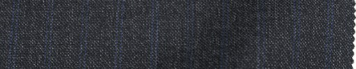 【To_8w06】グレーペッパー&ソルト+1.2cm巾ブルーストライプ
