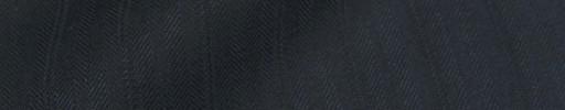 【Bm08w_08】ダークネイビー柄+1.5cm巾織りストライプ