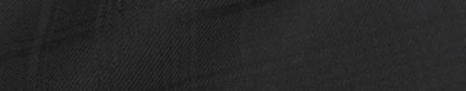 【Bm08w_14】ブラックシャドウチェック+5.5×4.5cmオーバープレイド