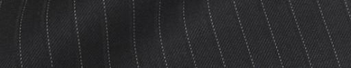 【Bm08w_19】ブラック+8ミリ巾ドット・織りストライプ