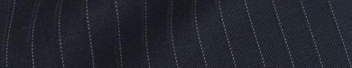 【Bm08w_20】ネイビー+8ミリ巾ドット・織りストライプ