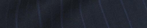 【Bm08w_23】ダークネイビー+1.5cm巾ブルー・織り交互ストライプ