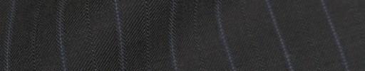 【Bm08w_24】グレー+1.5cm巾パープル・織り交互ストライプ