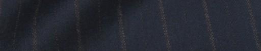 【Dol_8w18】ネイビー+2cm巾ブラウン交互ストライプ