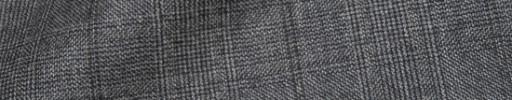 【Dol_8w30】グレーグレンチェック+5×4.5cmブラウンプレイド