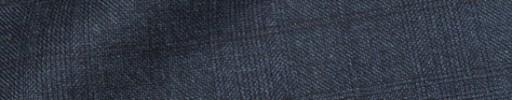 【Dol_8w32】ネイビーグレンチェック+5×4.5cmブラックプレイド