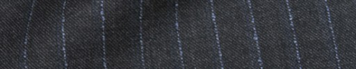 【Dol_8w33】チャコールグレー+1.4cm巾パープルストライプ