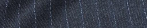 【Dol_8w34】ブルーグレー+1.4cm巾パープルストライプ