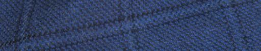 【Ha_8mb01】ライトネイビー+6.5×5cmブラック・ブループレイド