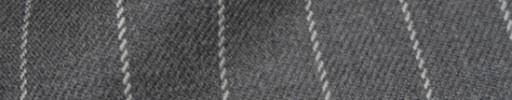 【Hs_8ct05】ライトグレー+1.9cm巾白ストライプ