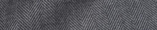 【Hs_8ct12】ミディアムグレー1.6cm巾ヘリンボーン