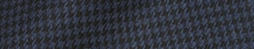 【Hs_8ct21】ネイビー・ブラックハウンドトゥース