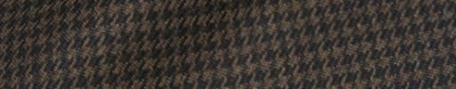 【Hs_8ct22】ブラウン・ダークブラウンハウンドトゥース