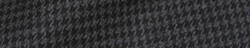 【Hs_8ct23】グレー・ブラックハウンドトゥース