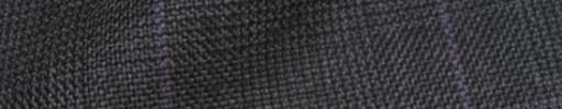 【Hs_8ct30】ダークグレーグレンチェック+6×5cmパープルオーバープレイド