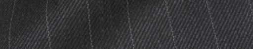 【Hs_8ct40】チャコールグレー+1.6cm巾ストライプ