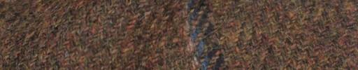 【Hs_8st02】レッドブラウン+8×7cmブルーミックスチェック