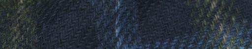 【Hs_8st17】ネイビー+10.5×8cmカラードチェック