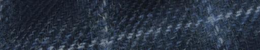 【Hs_8st18】ネイビー+5.5×4.5cmライトブループレイド