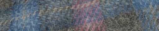 【Hs_8st24】ライトグレー+10×8cmライトブルー・ピンクプレイド