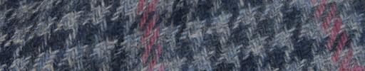 【Hs_8st25】ブルーミックス・ガンクラブチェック+6×5cmピンクプレイド