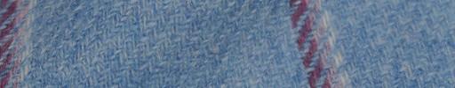 【Hs_8st26】ライトブルー+8×7cmピンク・白ミックスチェック