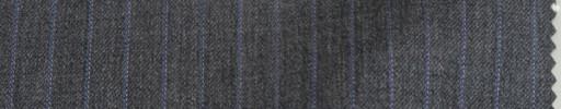 【Miy_8w33】ミディアムグレードット柄+9ミリ巾パープルドットストライプ