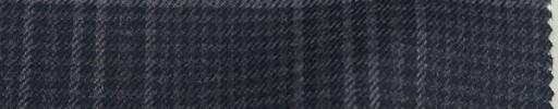 【Mjt_14】ダークブルーグレー8×6cmチェック