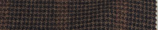 【Mjt_26】ネイビー・オレンジハウンドトゥース+5.5×4.5cmウィンドウペーン