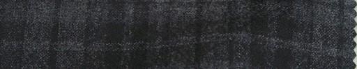 【Mjt_40】グレーチェック+5.5×5cmオーバープレイド