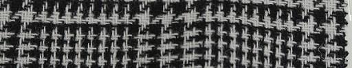 【Mjt_44】ブラック・白8.5×6.5cmグレンプレイド