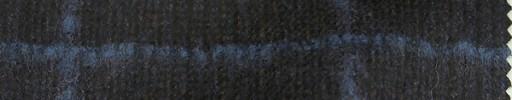 【Mjt_51】ダークブラウングレンチェック+7×7cmブルーオーバープレイド