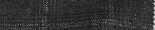 【Mjt_54】ブラウンチェック+6×5cmブルー・白プレイド