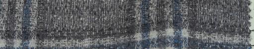 【Mjt_55】ライトグレーチェック+8.5×8cmブルー・白プレイド