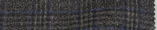 【Mjt_57】ブラウンミックス+5×4cmブルー・白プレイド