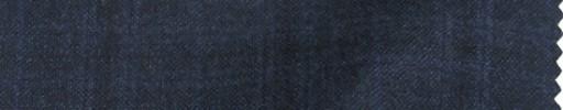 【Mps_w17】ダークブルーグレー+4.5×3.5cmブラック・ブルーチェック