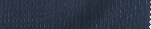 【Mps_w27】ブルーグレー3ミリ巾織り・水色ストライプ