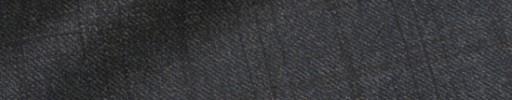 【Dov_9w20】ダークグレー+4.5×3.5cm織りチェック