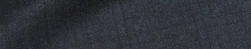 【Dov_9w21】ダークブルーグレー+4.5×3.5cm織りチェック