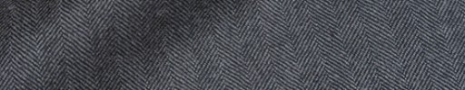 【Dov_9w22】ミディアムグレー1.3cm巾ヘリンボーン